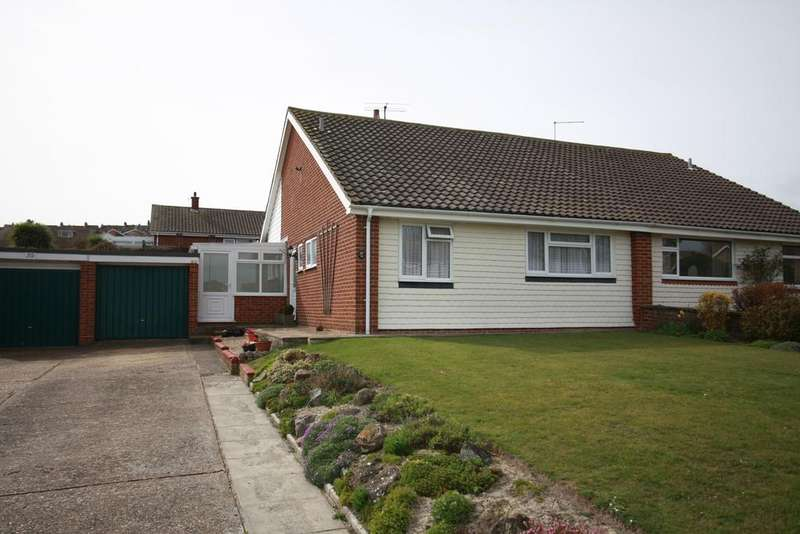 2 Bedrooms Semi Detached Bungalow for sale in Burton Road, Eastbourne BN21