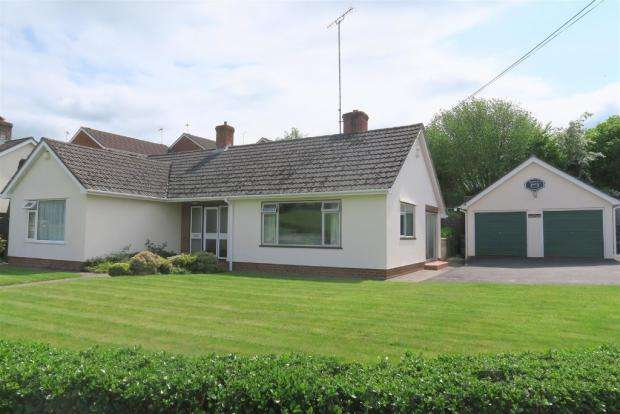 3 Bedrooms Detached Bungalow for sale in Wiveliscombe TA4