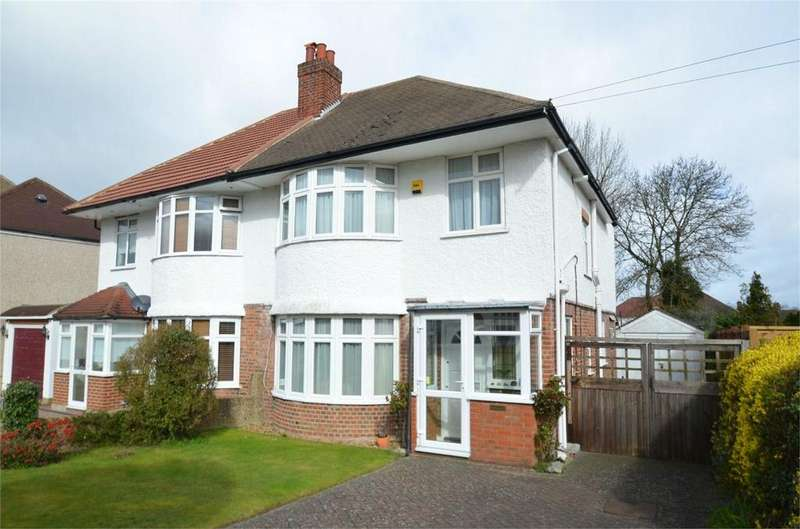 3 Bedrooms Semi Detached House for sale in Bennetts Way, Shirley, Croydon, Surrey