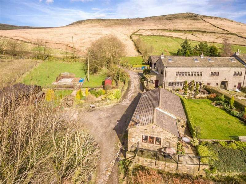 5 Bedrooms Semi Detached House for sale in Diggle Edge, Diggle, SADDLEWORTH, OL3