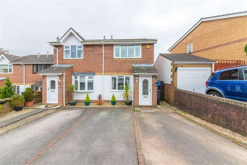 2 Bedrooms Semi Detached House for sale in Pant Yr Heol Close, Cwmbran, Torfaen