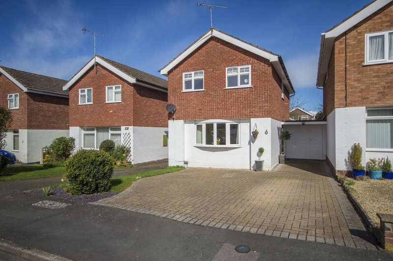 3 Bedrooms Link Detached House for sale in Merton Close, Bewdley