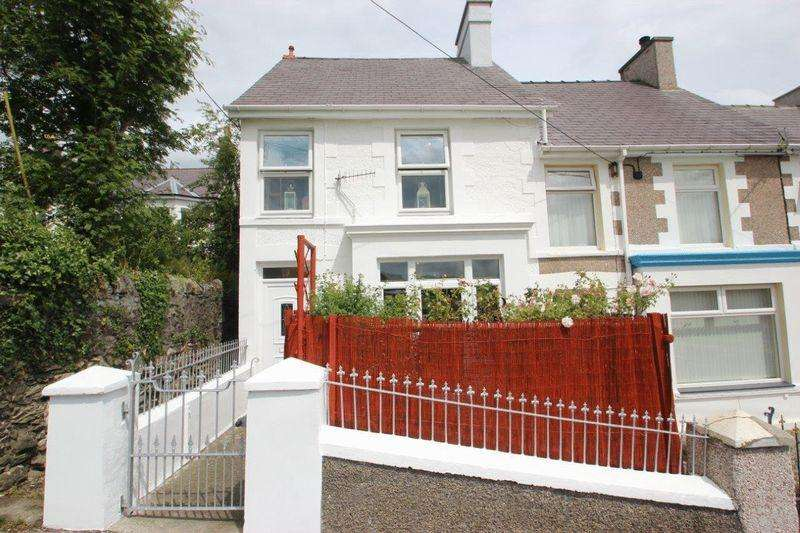 3 Bedrooms End Of Terrace House for sale in Talysarn, Gwynedd