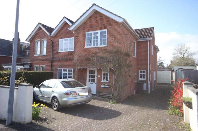 4 Bedrooms Semi Detached House for sale in EMPIRE ROAD, SALISBURY, WILTSHIRE