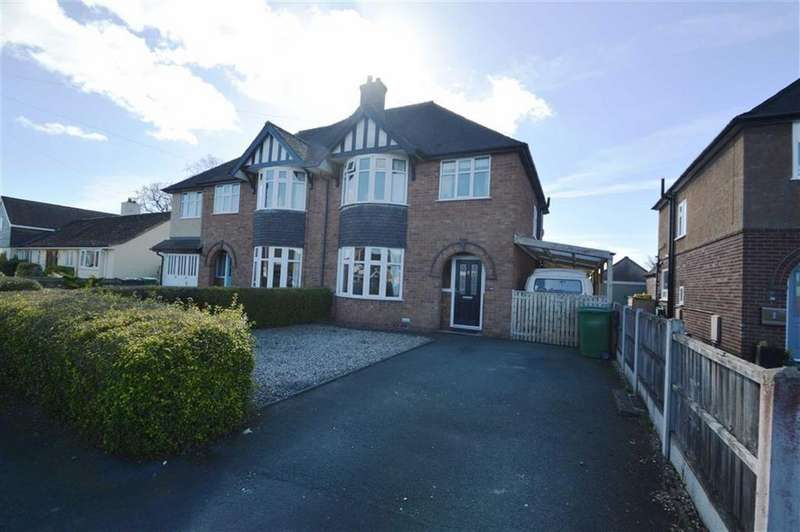 3 Bedrooms Semi Detached House for sale in 40, Kenwood Drive, Shrewsbury, SY3