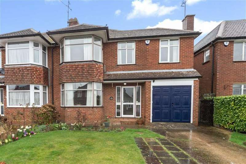 4 Bedrooms Semi Detached House for sale in Hemingford Drive, Luton