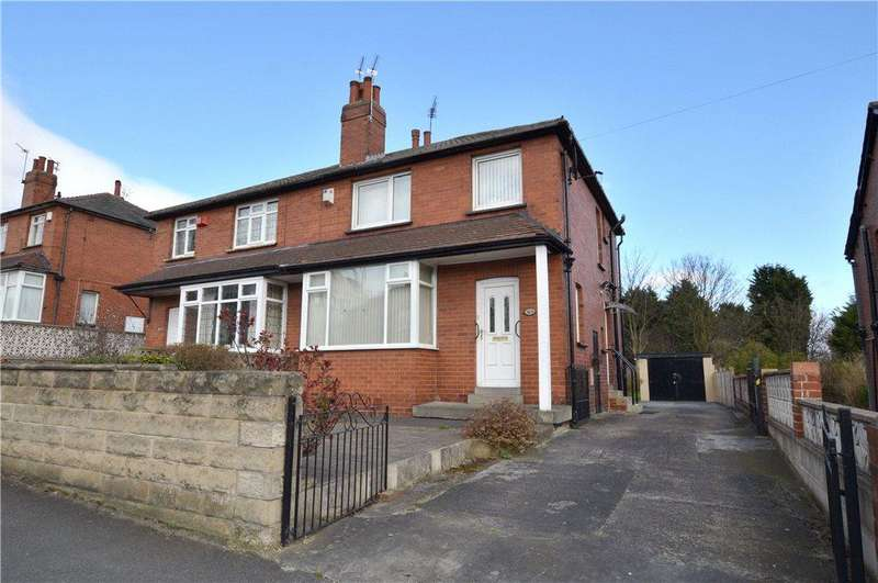 3 Bedrooms Semi Detached House for sale in Oakwood Lane, Oakwood, Leeds