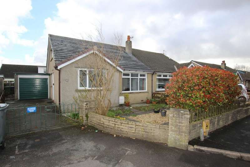 3 Bedrooms Semi Detached Bungalow for sale in 6 The Crescent, Holme, Carnforth