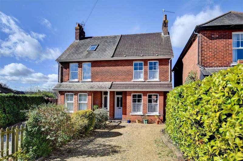 4 Bedrooms Semi Detached House for sale in St Christophers Road, HASLEMERE, Surrey