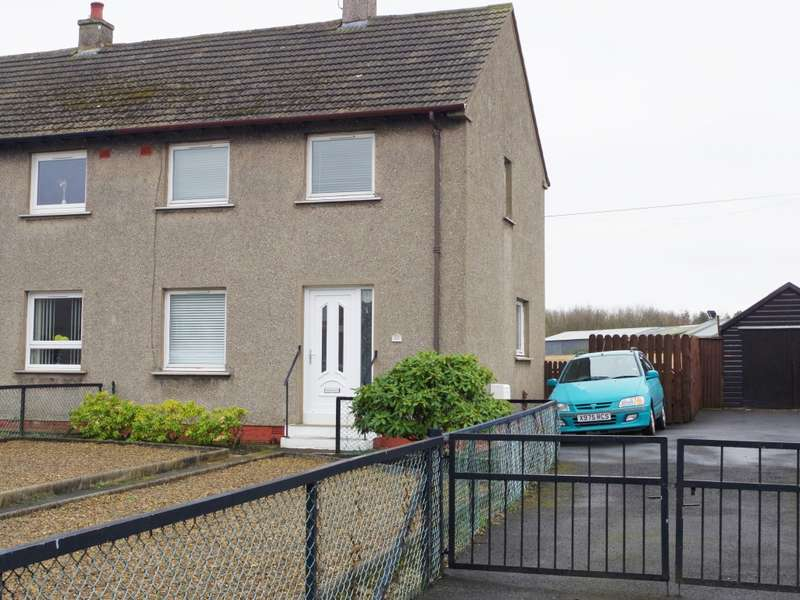 2 Bedrooms Semi Detached House for sale in 12 Moncur Road, Kilwinning, KA13 7LD