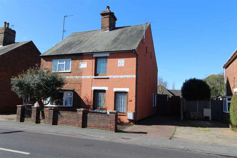 2 Bedrooms Semi Detached House for sale in Straight Road, Colchester