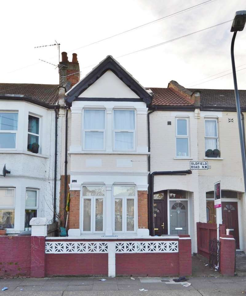 2 Bedrooms Flat for sale in Oldfield Road, Willesden, London, NW10 9UT