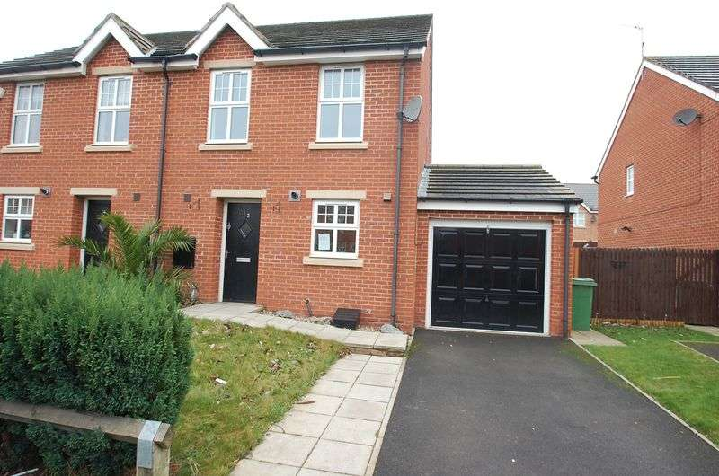 3 Bedrooms Semi Detached House for sale in Rona Gardens, Thornaby, Stockton-On-Tees