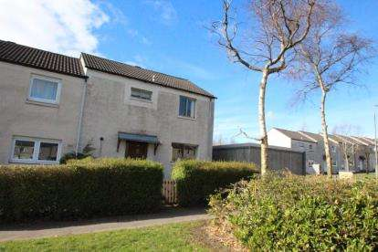 3 Bedrooms End Of Terrace House for sale in Inveraray Avenue, Glenrothes