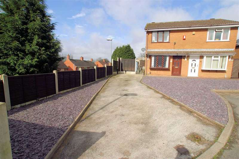 2 Bedrooms Semi Detached House for sale in Knarsdale Close, Adderley Green, Stoke on Trent