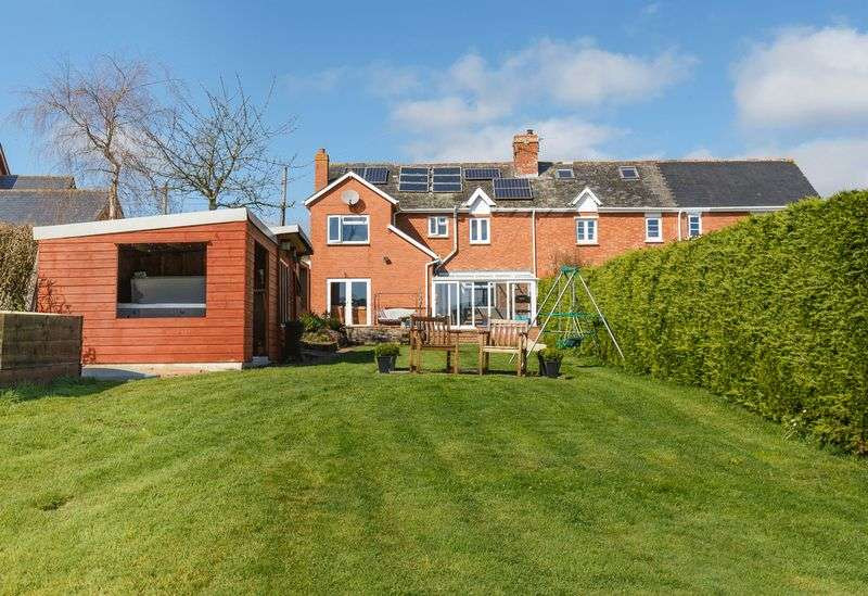 4 Bedrooms Semi Detached House for sale in Higher Wotton, Yeoford
