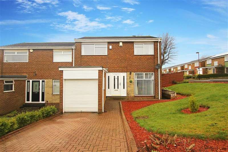 3 Bedrooms Property for sale in Pangbourne Close, West Denton Park, Newcastle Upon Tyne