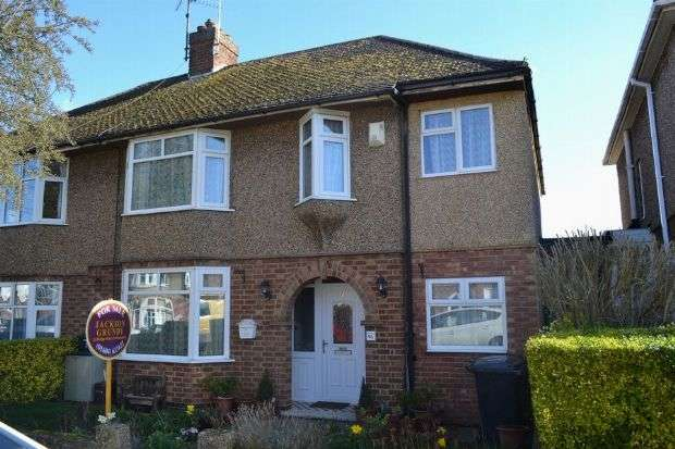 4 Bedrooms Semi Detached House for sale in Winchester Road, Delapre, Northampton NN4 8AZ