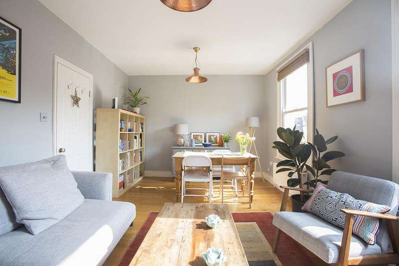 2 Bedrooms Flat for sale in Rushmore Road, Hackney, London E5