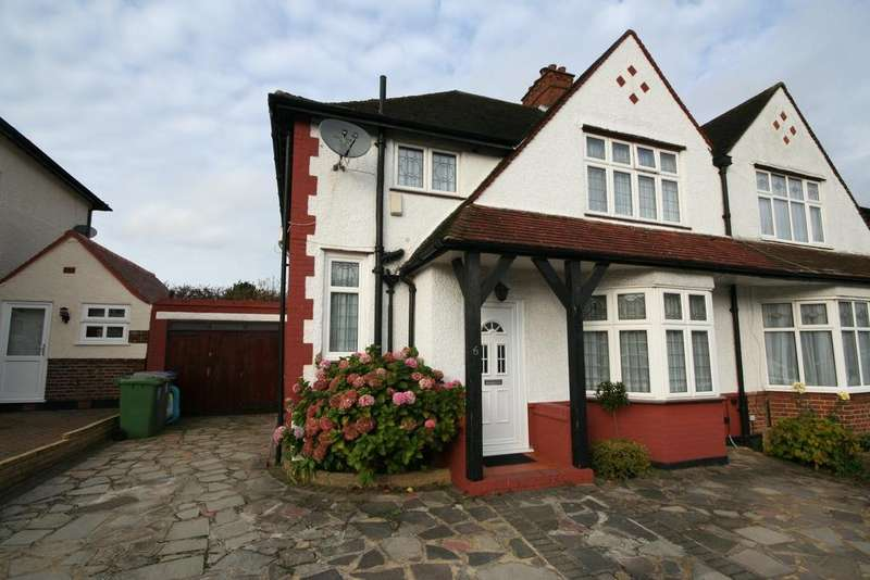 4 Bedrooms Semi Detached House for sale in Wellacre Road, Off Norhwick Circle HA3