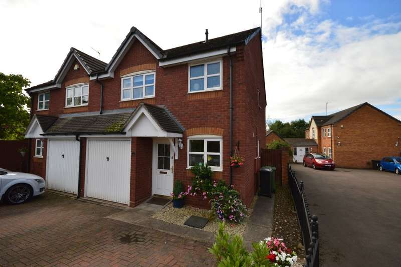 3 Bedrooms Semi Detached House for sale in Sheldon Close, Wychbold, Droitwich, WR9