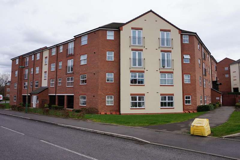 2 Bedrooms Apartment Flat for sale in Brook House, Wharf Lane, Solihull, B91 2NJ