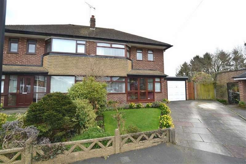 3 Bedrooms Semi Detached House for sale in Shawe Hall Avenue, URMSTON, Manchester