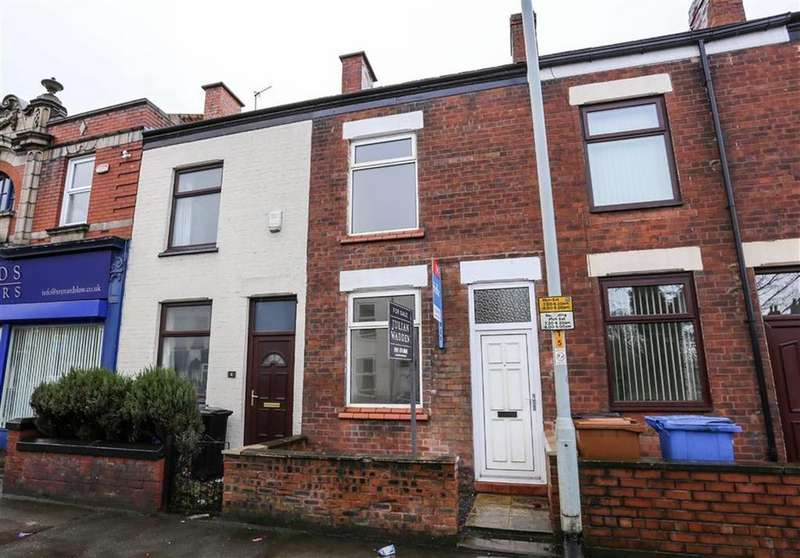 3 Bedrooms Terraced House for sale in Carrington Road, Portwood, Stockport