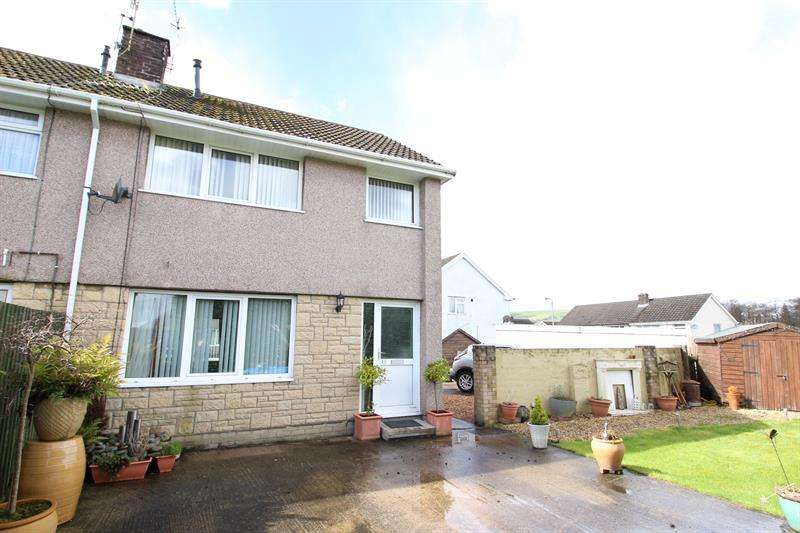 3 Bedrooms Semi Detached House for sale in St. Helens Court, Caerphilly