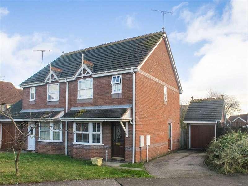 3 Bedrooms Semi Detached House for sale in Keeble Park, Maldon, Essex
