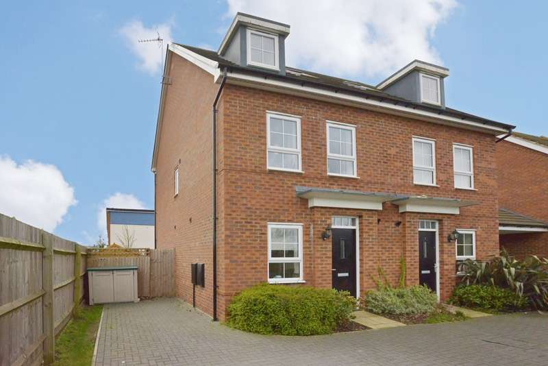 3 Bedrooms Town House for sale in King Stephen Meadows, Milton Keynes, Buckinghamshire, MK12