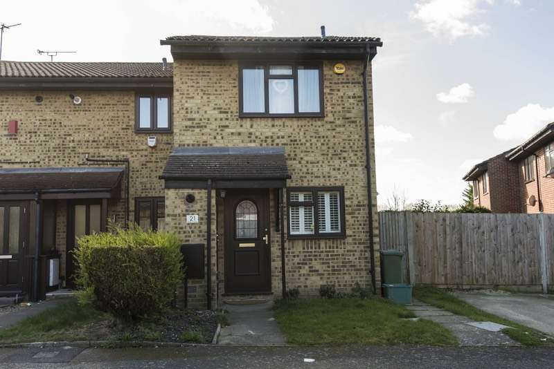 2 Bedrooms End Of Terrace House for sale in Wren Close, Orpington, Kent, BR5