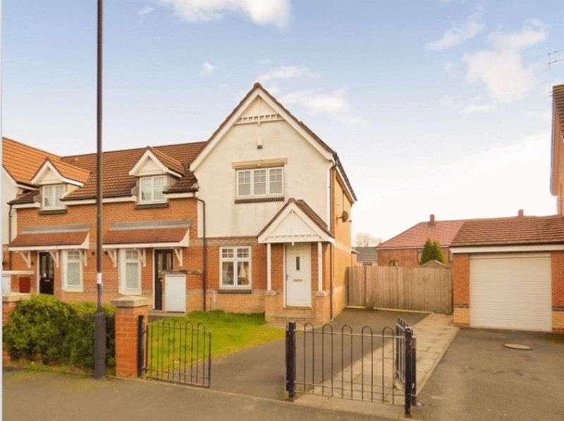 2 Bedrooms Semi Detached House for sale in Oakham Gardens, NE29 7QG