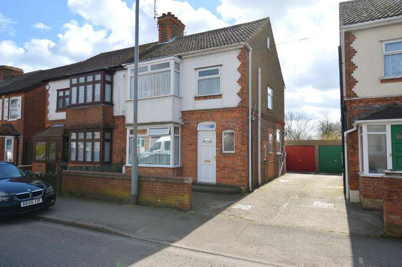 3 Bedrooms Semi Detached House for sale in Stockingstone Road, Round Green, Luton, LU2 7ND