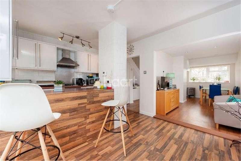 3 Bedrooms Terraced House for sale in Birdhurst Road, South Croydon, CR2