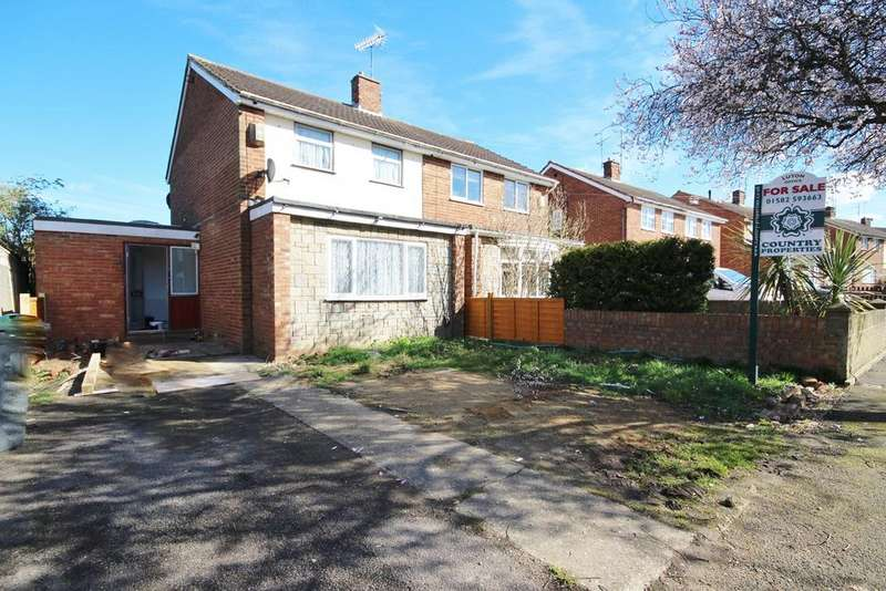 3 Bedrooms Semi Detached House for sale in Lilac Grove, Sundon Park, Luton, LU3