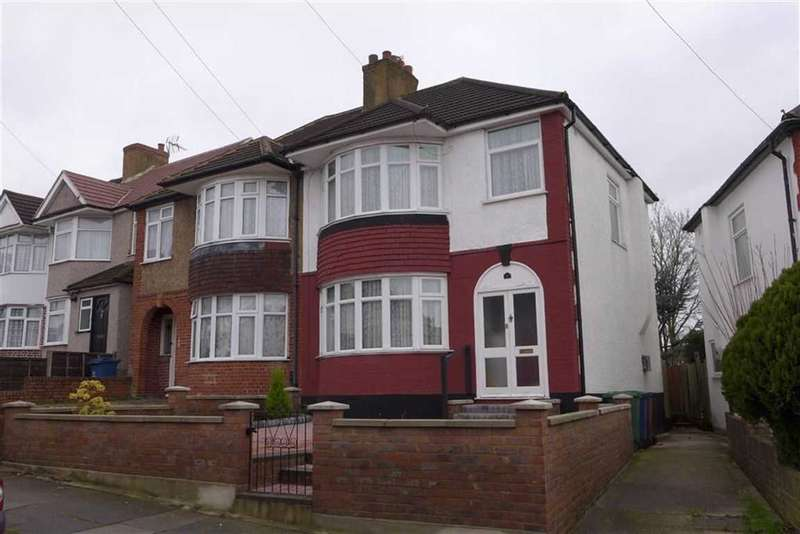 3 Bedrooms Semi Detached House for sale in Bengarth Drive, Harrow Weald