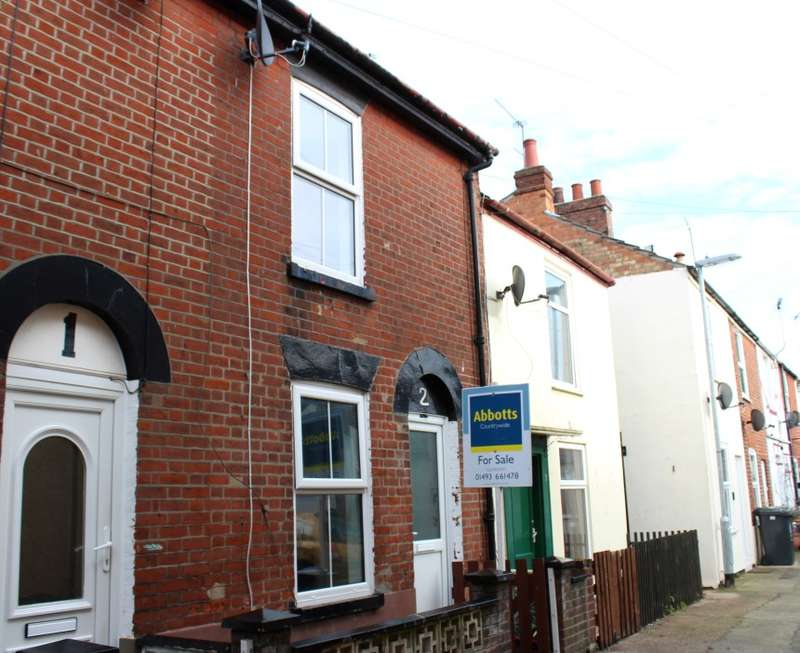 2 Bedrooms Terraced House for sale in Drakes Buildings, St. Peters Plain, Great Yarmouth, Norfolk, NR30 2LP
