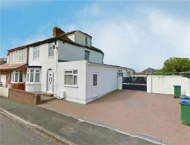 4 Bedrooms Semi Detached House for sale in Peters Street, Hill Top, West Bromwich, West Midlands