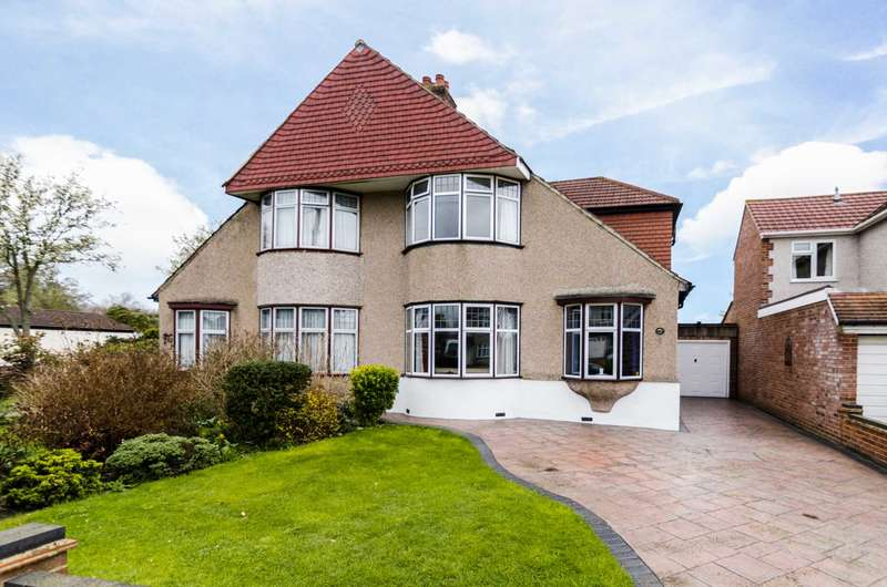 4 Bedrooms Semi Detached House for sale in Harland Avenue, Sidcup, DA15 7PQ