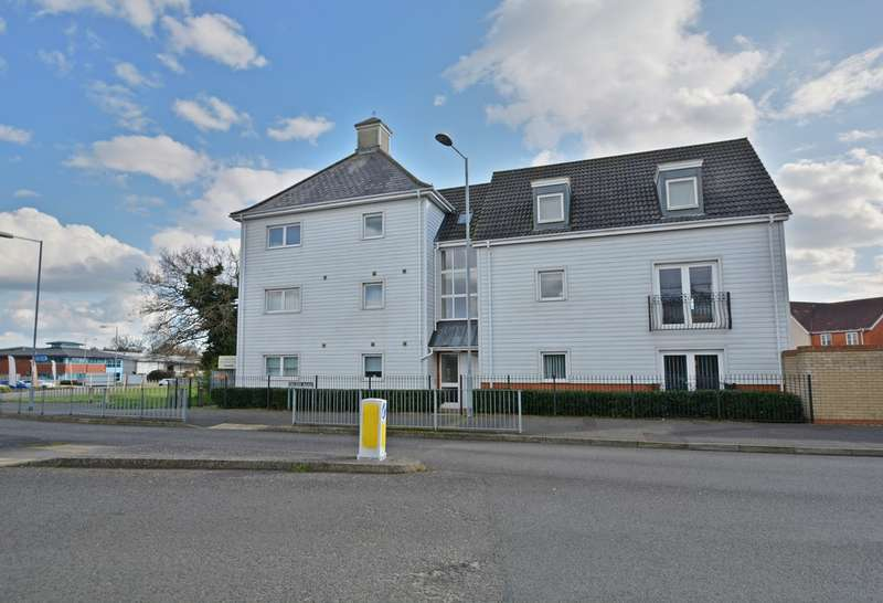 2 Bedrooms Flat for sale in Ensign Way, Diss