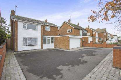 4 Bedrooms Detached House for sale in Coombe Rise, Oadby, Leicester, Leicestershire