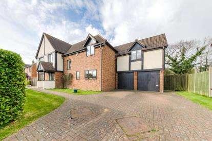 5 Bedrooms Detached House for sale in Huntingdon Crescent, Bletchley, Milton Keynes, Buckinghamshire