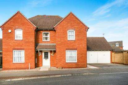 4 Bedrooms Detached House for sale in John Lea Way, Wellingborough, Northamptonshire, England