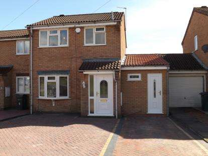 3 Bedrooms Semi Detached House for sale in Flavell Close, Bartley Green, Birmingham, West Midlands