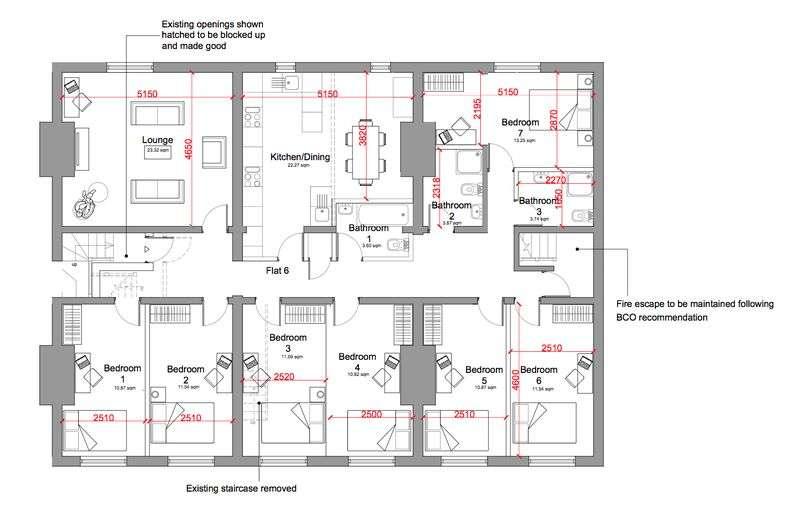 7 Bedrooms Property for rent in 6 Bedroom newly renovated accommodation in the heart of Liverpool City Centre