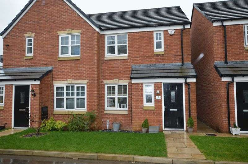 2 Bedrooms Semi Detached House for sale in Mayflower Gardens, Rochdale