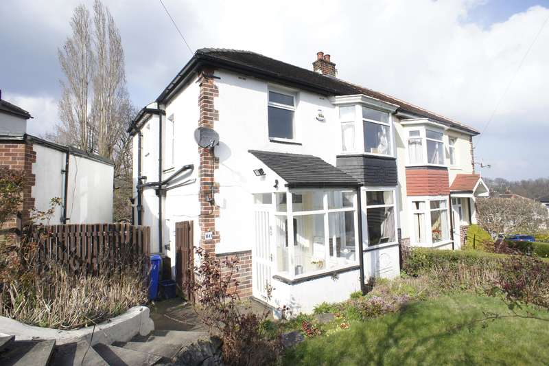 3 Bedrooms Semi Detached House for sale in Montrose Road, Carterknowle, Sheffield, S7 2EF