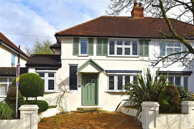 3 Bedrooms Semi Detached House for sale in Hambro Avenue, Hayes, Kent