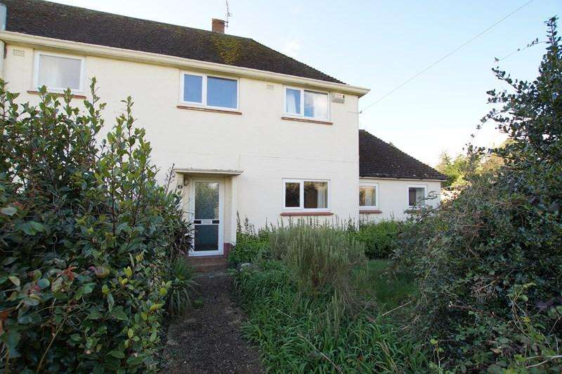 3 Bedrooms Semi Detached House for sale in Haycombe, Durweston, Blandford Forum